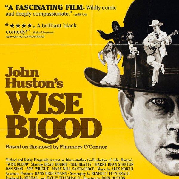 poster, film, Wise Blood, man, photo