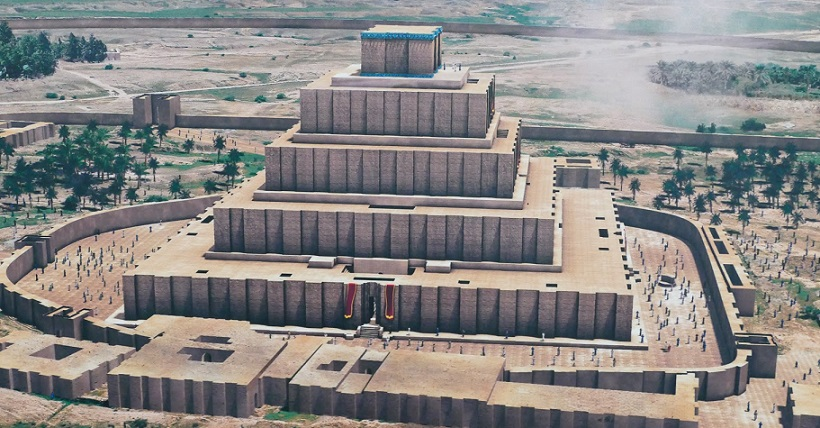 """Babylonian ziggurat of Etemenanki: The """"Babel Tower"""" myth known also to American Indians 2"""