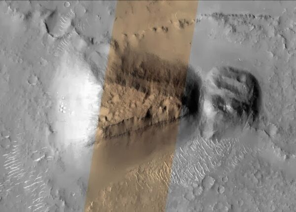 The curious case of the massive structure similar to an ancient Japanese tomb on Mars 3