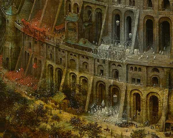 """Babylonian ziggurat of Etemenanki: The """"Babel Tower"""" myth known also to American Indians 3"""