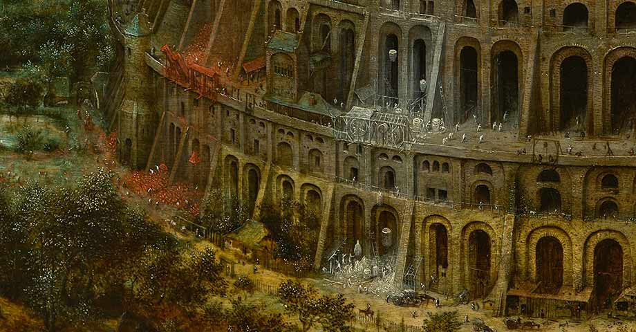 """Babylonian ziggurat of Etemenanki: The """"Babel Tower"""" myth known also to American Indians 1"""