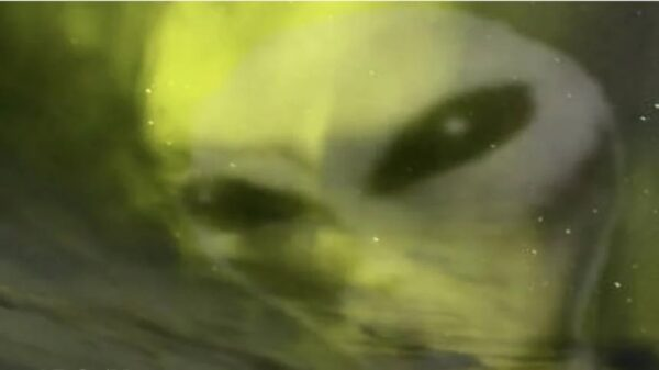 """""""Aliens"""" are discovered in the northern lights. Mysterious alien creatures are hiding in the earth's atmosphere? 6"""