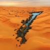 Sea in the Gobi Desert: the ancient home of the Sons of God 11