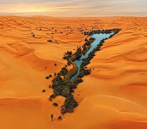 Sea in the Gobi Desert: the ancient home of the Sons of God 3
