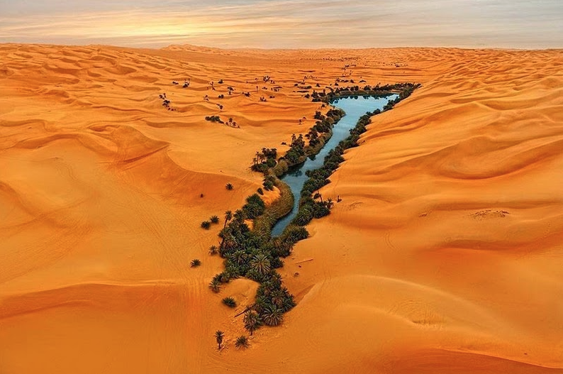 Sea in the Gobi Desert: the ancient home of the Sons of God 1