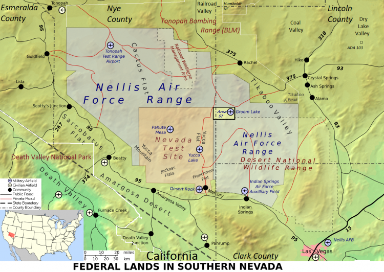 Area 51: The myth of the Forbidden Area built on the wreckage of a UFO 2