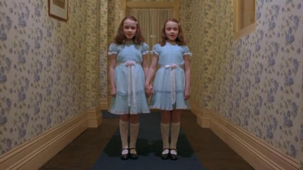 """Ghostbusters found the """"Shining twins"""" in Britain's most haunted hotel 8"""