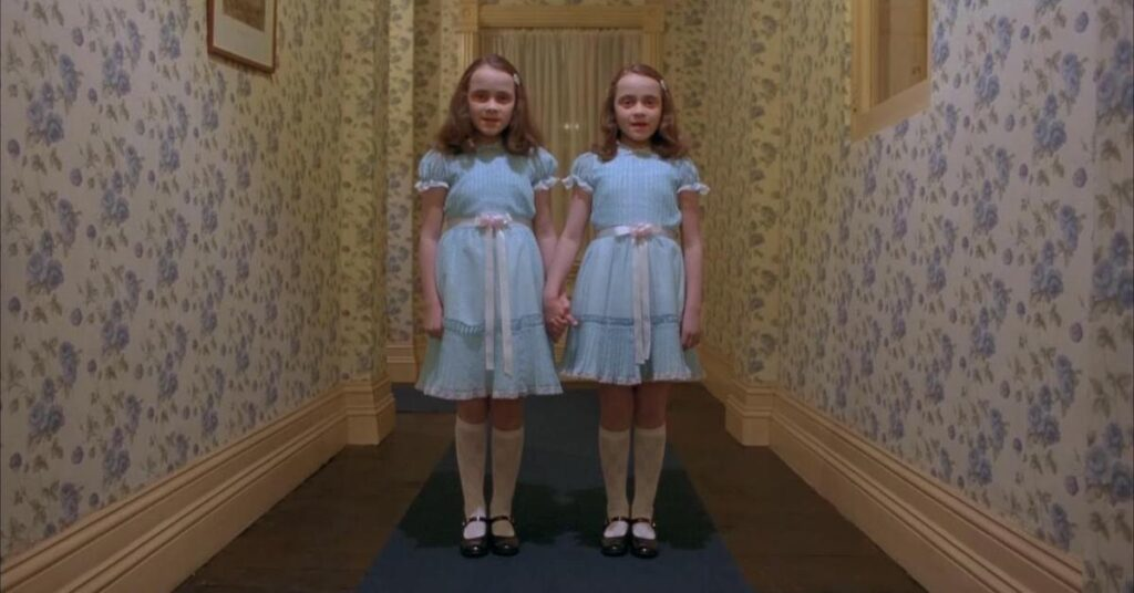 """Ghostbusters found the """"Shining twins"""" in Britain's most haunted hotel 1"""