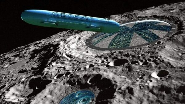 Three giant UFOs spotted near the moon in NASA images 10