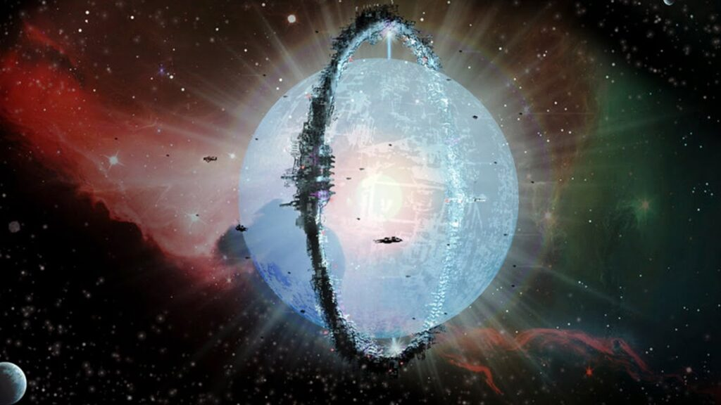 Extraterrestrials could have built a Dyson sphere around a black hole 1