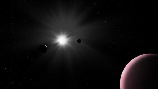 Unexpected encounter: scientists have seen a unique exoplanet in the Nu² Wolf system 17