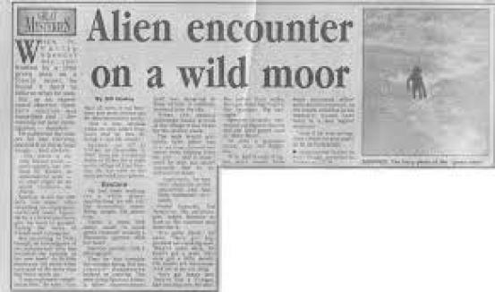 British police officer took the most reliable picture of an alien creature and saw a UFO in 1987 2