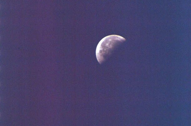 Three giant UFOs spotted near the moon in NASA images 12