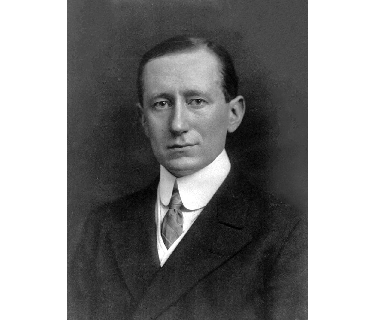 Guglielmo Marconi.  Photo © wikipedia