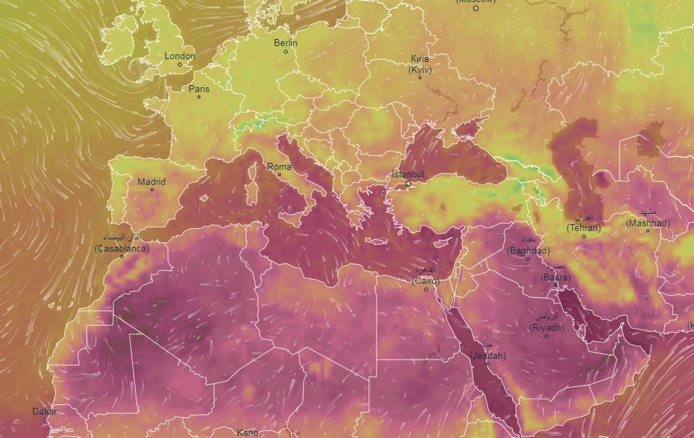 Huge temperature anomaly over Europe: the climate is preparing to explode 1