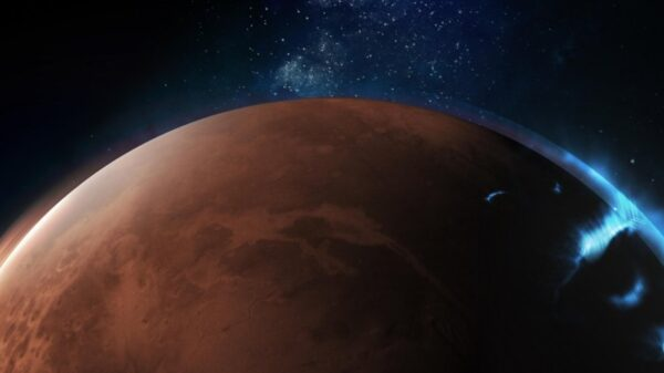 Scientists have recorded previously unseen auroras on Mars 161