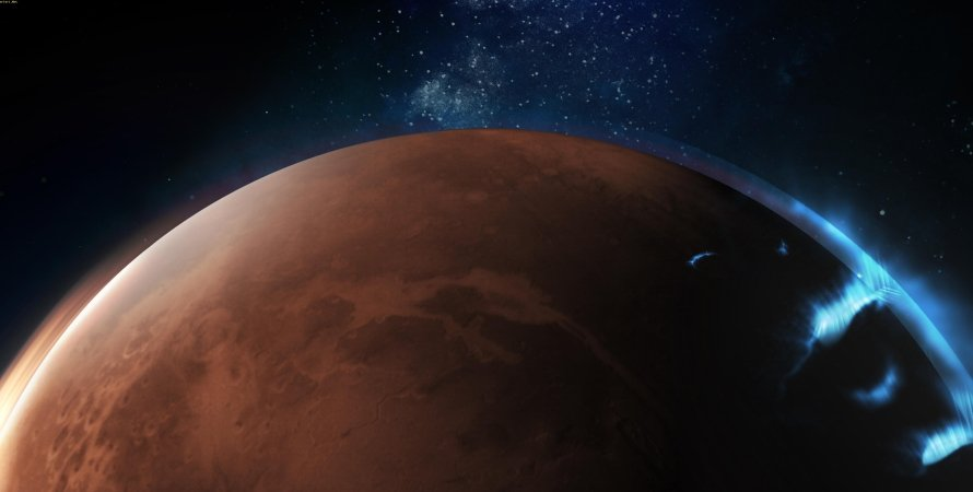 Scientists have recorded previously unseen auroras on Mars 1