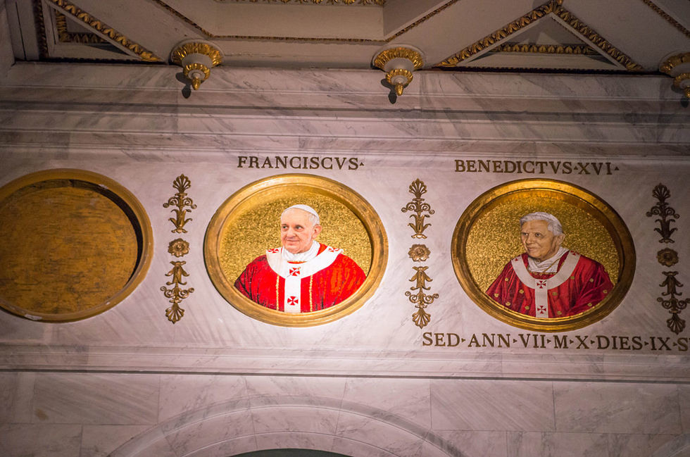 In December, Pope Francis will leave and there will be months before the End of the World 1