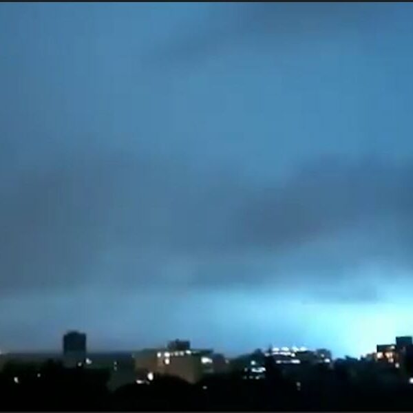 """""""Signs of the Apocalypse"""": eyewitnesses in Mexico are frightened by strange flashes in the sky 3"""