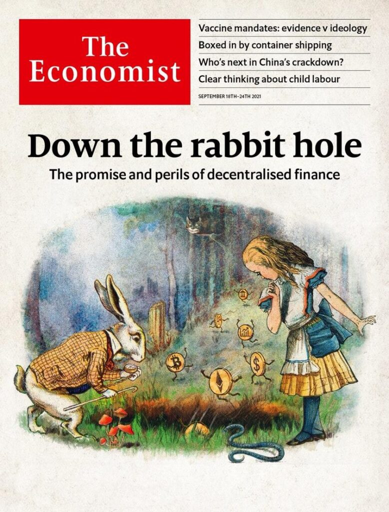 World crisis and quantum law 'civilization': Decrypting the new cover of the Economist magazine 2