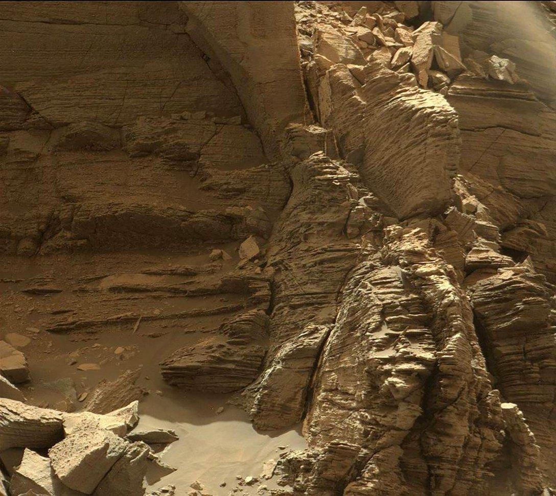 hills, Mars, photo, Murray Butts