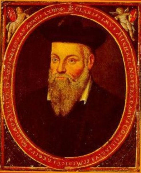 Nostradamus' prediction of the end of the world, which will cause the end of the world