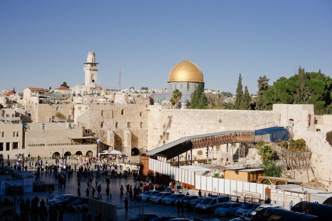 Rabbi Joseph Berger, Temple Mount in Jerusalem
