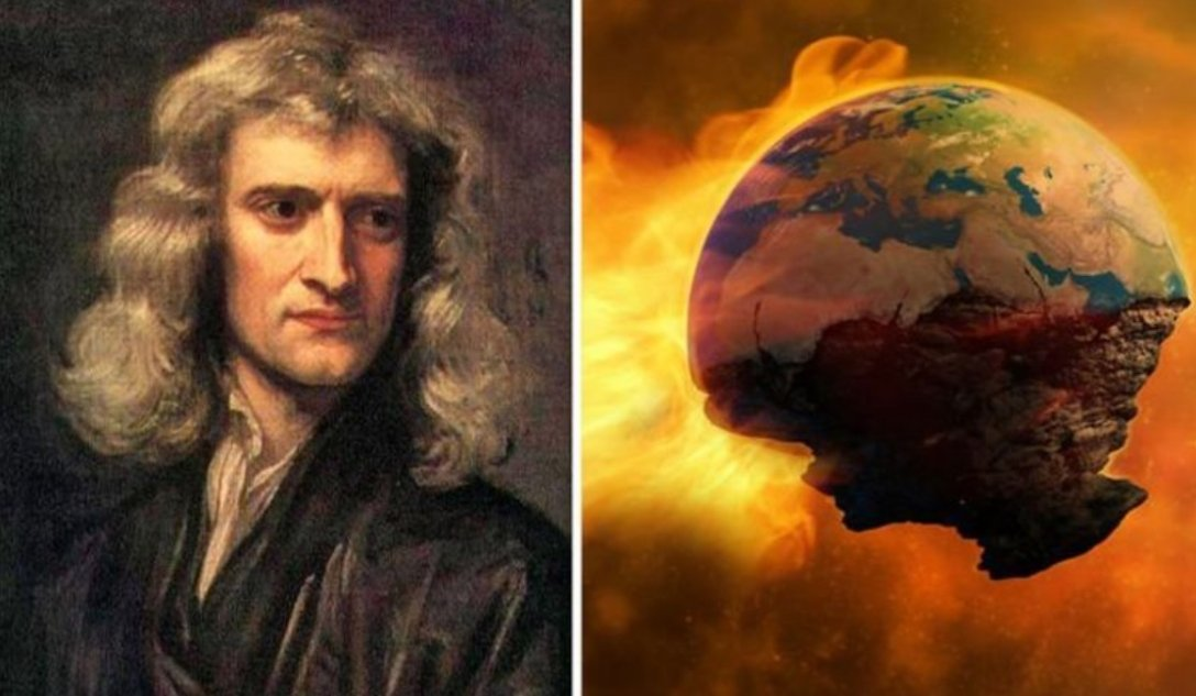 the end of the world, Newton, the Bible