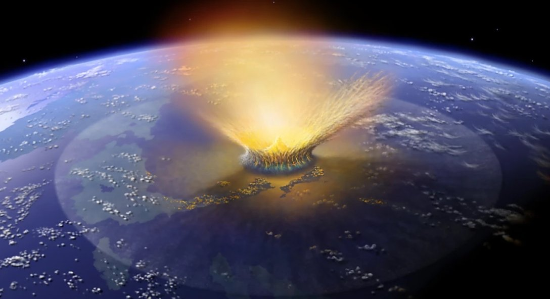 asteroid, end of the world, dinosaurs