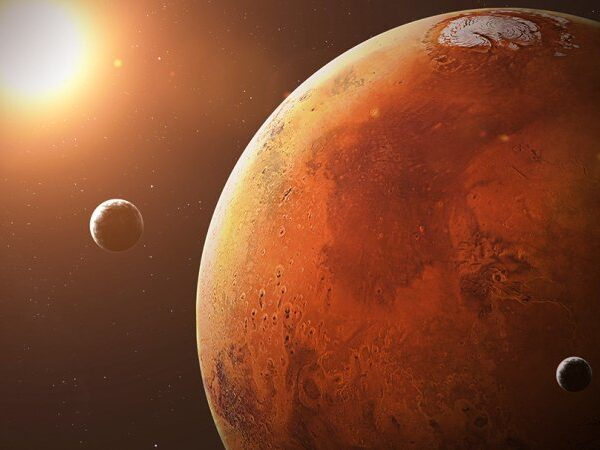Scientists have found natural shelters on Mars that protect from radiation 2