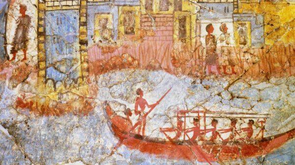 Large lava stairs found in Santorini: Is Lost Atlantis Hiding under the Caldera? 191
