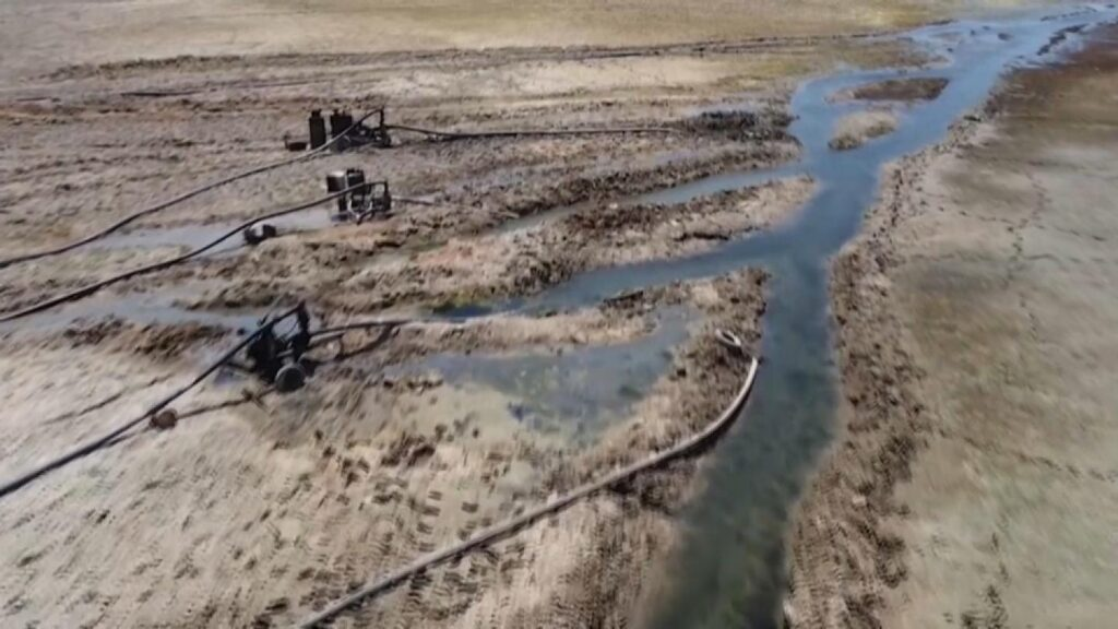 Premonition of conflict. China, US and Taiwan: Euphrates River is Drying Up - Just in Time for Armageddon 1