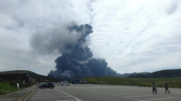 The largest active volcano in Japan erupts, joining La Palma. Edgar Cayce's prediction of the Earth's poles coming true? 8