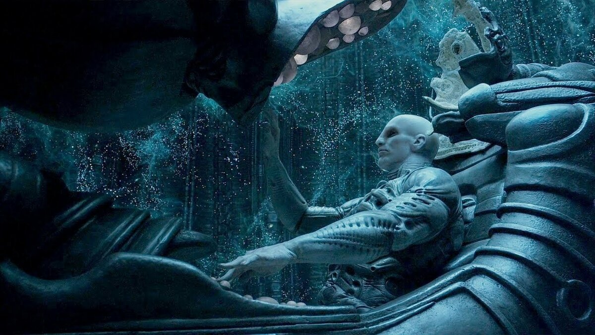 """A still from the film """"Prometheus""""."""