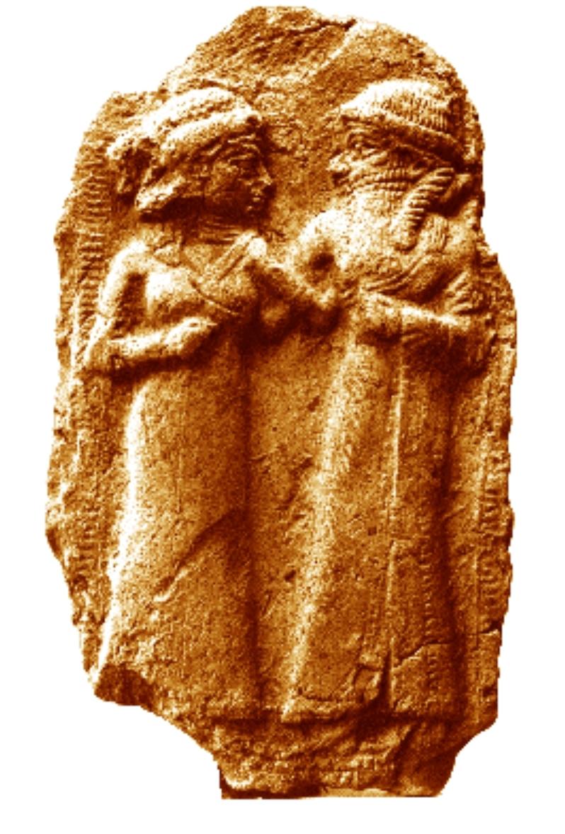 Inanna and Dumuzi.