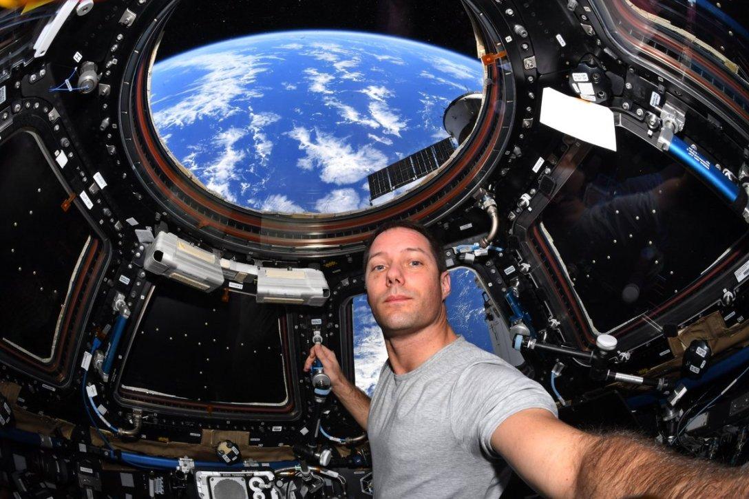 Thomas Peske, astronaut, ISS